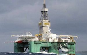 FOGL on 24th April 2015 confirmed that drilling operations in 'Isobel Deep' had been suspended whilst technical issues relating to the BOP were rectified