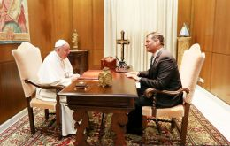 President Correa met on Tuesday with the Pope and UN Secretary General Ban Ki-moon
