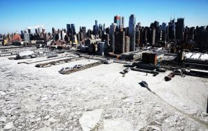 Economists estimated that the unusually cold weather in February could have affected economic growth by as much as half a percentage point