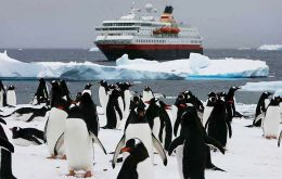 The total number of visitors traveling to Antarctica with IAATO members was 36,702, a decrease of 2 percent compared to the previous season.