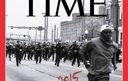 "On the magazine's cover Time adds to the title: ""what has changed, what hasn´t,"" regarding 1968 and 2015."