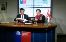 The Newton-Picarte fund for science and innovation with a contribution of £12m from the UK, aims to support the economic development of Chile