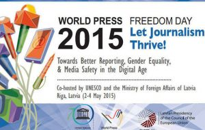 This year's theme – 'Let Journalism Thrive!'– is a three-pronged message that advocates for quality journalism,