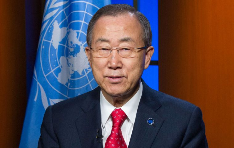 """Everyone must be free to seek, receive and impart knowledge and information on all media, online and offline"" said the message from Ban Ki-moon"