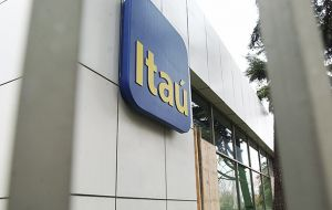 Itaú for this year cut its loan book growth outlook while increasing loan-loss provision expenses by average 22.5% to a range between 15bn and 18bn Reais.