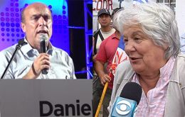 Lucia Topolansky, former First Lady, Daniel Martínez and Edgardo Novick are the main competitors in Montevideo of Sunday's vote