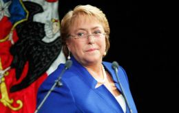 Following the scandals, Bachelet's approval numbers according to the Chilean Center for Public Studies have collapsed to just 29%