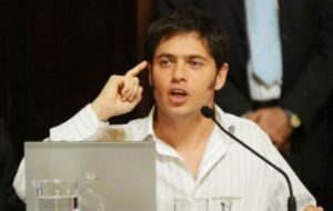 """It is nothing more than another desperate attempt, after the vulture funds' failure in their efforts to stop the recent auction"" said Ministry Kicillof"