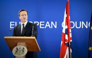 Cameron says he wants to stay in a reformed EU but has also said that he would not be heartbroken if Britain left.