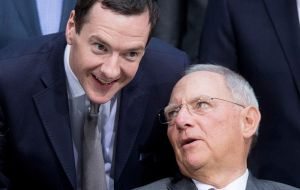 Germany will work with Britain to improve the EU, Finance Minister Wolfgang Schaeuble said after meeting finance minister, George Osborne, in Brussels.