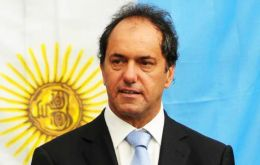 Buenos Aires province governor Daniel Scioli has been a faithful follower of Cristina Fernandez despite some humiliating reactions from the president