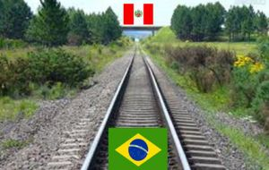 A transcontinental railway would cut several days of sailing and slash transport costs according to Brazilian estimates