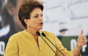 President Dilma Rousseff, pressed by a slowing economy, is committed to search for bilateral agreements with third parties, outside Mercosur.