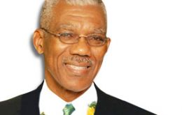 David Granger and his Partnership for National Unity-Alliance for Change Coalition got nearly 207,000 votes in Monday's ¬general elections.