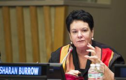 "International Trade Union Confederation (ITUC) leader Sharan Burrow said the work conditions in Qatar were ""simply slavery""."