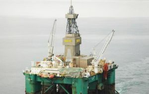 Drilling operations on the Eirik Raude semisubmersible drilling rig were halted late April and the BOP removed after an equipment malfunction