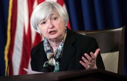 "Fed chief said the US economy is expected to strengthen after a slowdown due to ""transitory factors"" in recent months, and probably due to ""statistical noise."""