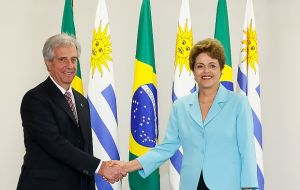 Last week Rousseff and Vazquez had agreed that Mercosur could be reanimated if the block frees its members to advance at different speeds