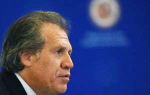 "Almagro said he was ""a tireless fighter for the unity of the Americas, more concerned with seeking practical solutions than with rhetoric and stridency"""