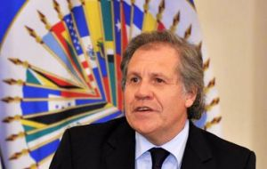 """All my efforts will be focused on making the OAS a useful tool in the interests of all the peoples of the Americas, wherever they are from,"" said Almagro."