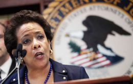 U.S. Attorney General Loretta Lynch laid out charges against FIFA officials, who used the US financial system for bribes and kickbacks