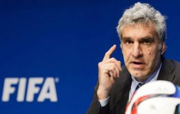 Walter de Gregorio, FIFA's communications director, told a press conference in Zurich that world football's governing body would not consider a re-vote.