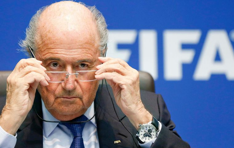 """We understand the disappointment that many have expressed and I know that the events of today will impact the way in which many people view us"", said Blatter."