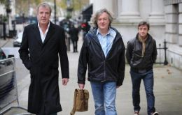 The Top Gear production team fled Argentina following protests over the use of the registration number H982 FKL.