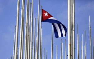 Having expired the 45-day Congressional pre-notification period, the decision to rescind Cuba as a State Sponsor of Terrorism, became effective 29 May 2015