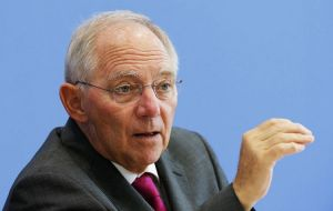 "German Finance Minister Wolfgang Schauble denied a breakthrough and said ""the positive news from Athens is not fully reflected in the talks"""