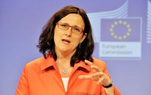 "Malmstrom ""has invited Mercosur members for a meeting on 11 June"", indicated the European Commission spokesperson"
