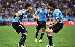 Uruguay has benefitted with the half place, since the team has to play off over two legs against a team from another continent for a place in the finals.
