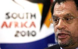 Danny Jordaan, head of South Africa's FA, is quoted as confirming that the amount was deducted from a FIFA payment to the country in 2008.