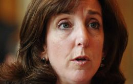 Jacobson will replace Anthony Wayne, who has been the U.S. envoy since 2011, if she is confirmed by the Senate