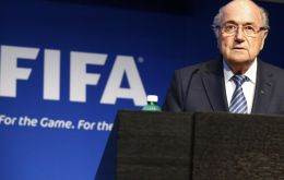 """That election is over but FIFA's challenges are not. FIFA needs a profound overhaul"", said Blatter in a brief statement in French."