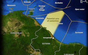 """The land boundary between Guyana and Venezuela which was defined by the Arbitral Award of 1899, is recognized by all states"""