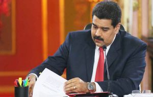 Maduro on May 27 signed a decree that now claims an entire portion of Guyana's territory into the Atlantic Ocean and includes the Stabroek Block