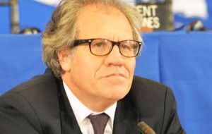 """We want an OAS that functions efficiently on two levels of action, and that this benefits all the member countries and their citizens directly,"" said Almagro."