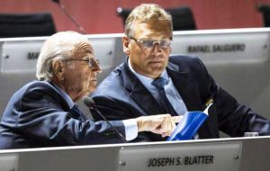 Although no one has been named in the investigation, Lauber did not discard  formal interviews with relevant people, including  Blatter and Jerome Valcke