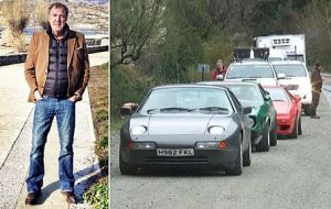 Clarkson triggered an incident with Argentina while driving in Patagonia with plate numbers (H982 FKL) that allegedly referred to Falklands' 1982 conflict