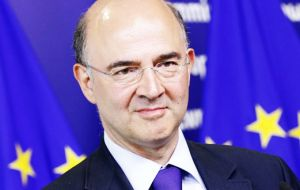 "European Commissioner Moscovici said publishing the list of ""non-cooperative jurisdictions"" was a decisive step for territories to adopt international standards."
