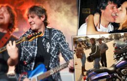 Amado Boudou, the playboy and rock guitar player vice-president, personally picked by Cristina Fernandez but who has fallen in disgrace