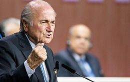 """But if anybody calls me corrupt because FIFA is corrupt, I can only shake my head. Everybody who says something like that should go to jail"" said Blatter"