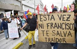 Protests began to widen in early June after Correa tried to impose a 75% tax on inheritances and capital gains from real estate sales.