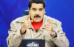 """Venezuela is coming under new forms of assault and aggression,"" said Maduro. ""This is a grave, dangerous situation that we must combat with national unity."""