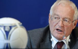 FIFA ethics judge Joachim Eckert chaired the panel which conducted a personal hearing for Mayne-Nicholls and pledged more information when the final decision