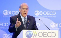 """Time is running out to prevent the scars of the crisis becoming permanent, with millions of workers trapped at the bottom of the ladder,' said Gurria"