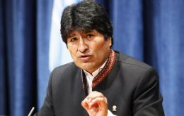 """You told me there are three pending issues in Latin America and the Caribbean: Puerto Rico, Malvinas and the sea for Bolivia"", said Morales"