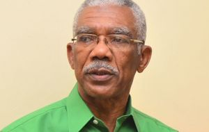 President Granger said Guyana does not have the military capacity to challenge Venezuela and his government would seek an international judicial settlement