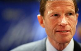 """The fact of the matter is that what has been revealed so far is a mafia-style crime syndicate in charge of this sport"" said Senator Blumenthal"